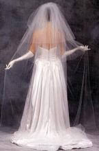 108 width wedding veil