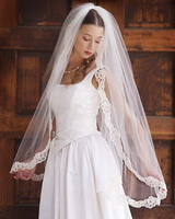veil and dress
