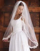 veil and dress