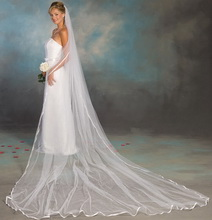 cathedral lenght wedding veil