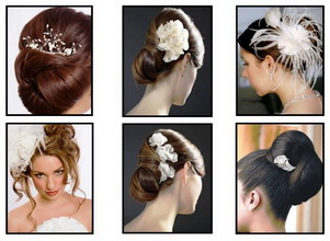 bridal clips and combs