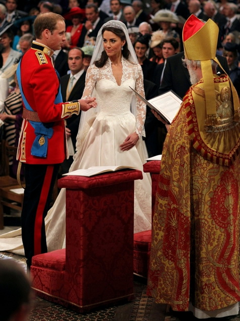 royal wedding exchangin vows
