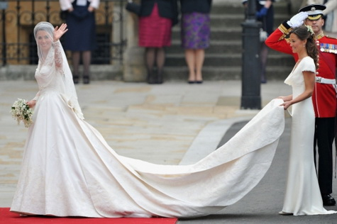 Kate Middleton Wedding Gown