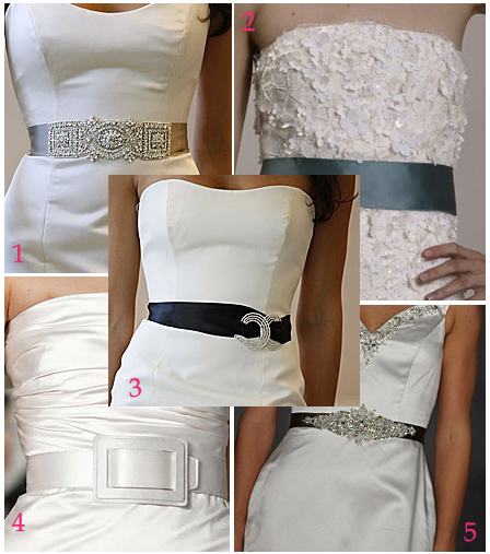 Wedding Gowns With Sashes: All About Wedding
