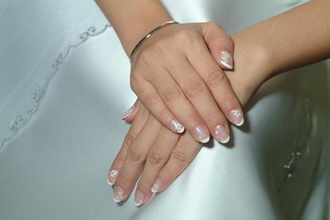 bridal natural nails