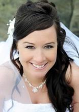 neon bridal makeup