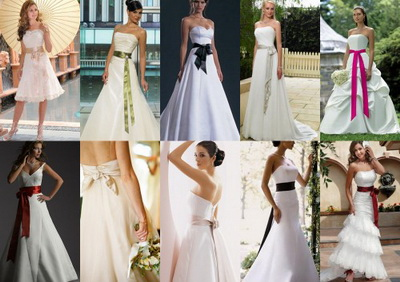 bridal sash belt | All About Wedding