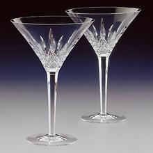 Martini toasting flutes