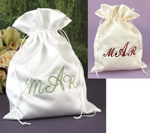 personalized wedding money bag