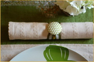 wedding napkin fabric
