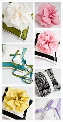 ring pillow design