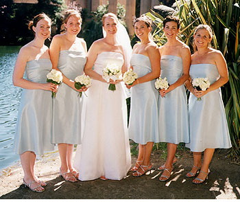 bridesmaid dresses style