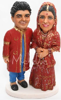 cake topper ethnical