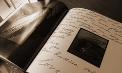 guest book coffe table