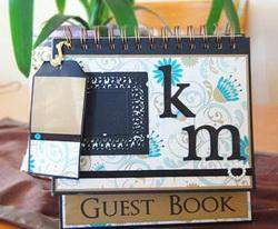 guest book scrapbook