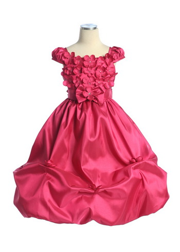 flower girl dress bodices and sleeves