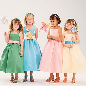 flower girl dress color
