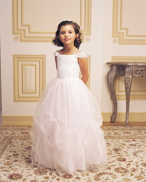 flower girl dress comfort