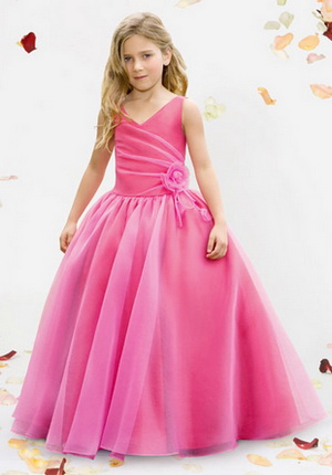 flower girl dress formality