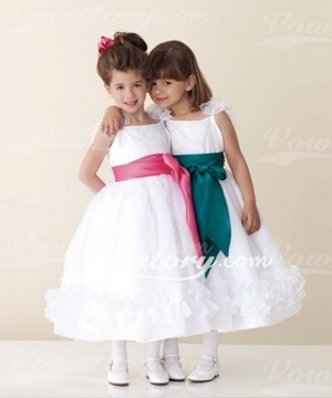 flower girl dress lenght