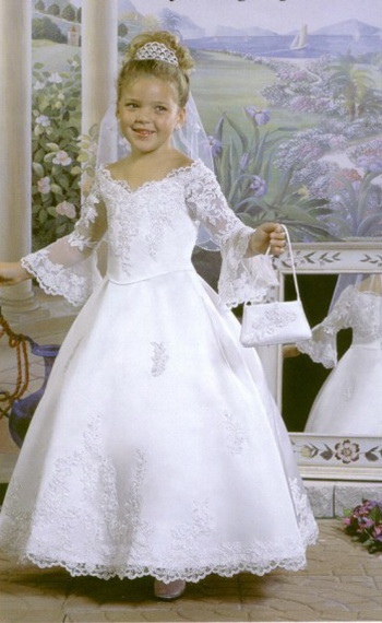 flower girl dress princess