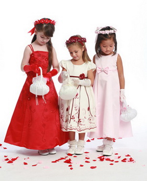 flower girl dress style