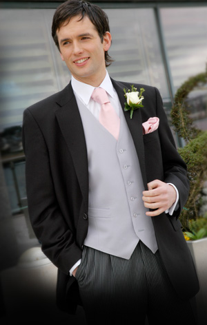A groom should wear a morning suit only if the wedding is taking place at