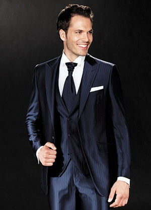 groom's suit quality and fabric