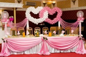 Wedding ballons all about wedding balloon pew ends balloon pew ends decorated with ribbons and balloon columns linking together down the aisle will give your guest the impression that they junglespirit Choice Image