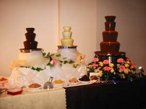 chocolate fountain flavor