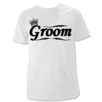 wedding t-shirt groom