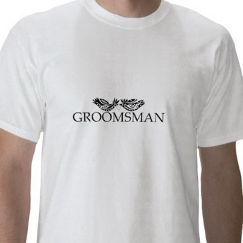 wedding t-shirt groomsman