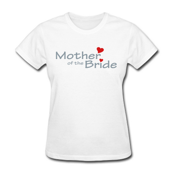 wedding t-shirt mother of the bride