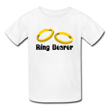 wedding t-shirt ring bearer