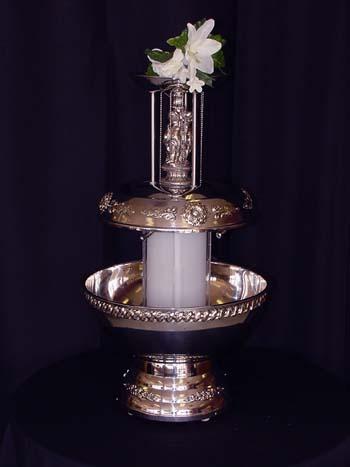 wedding champagne fountian
