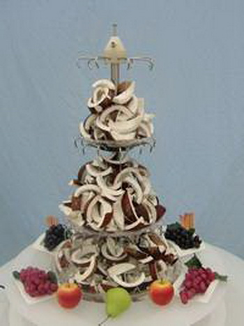 wedding coconut fountain