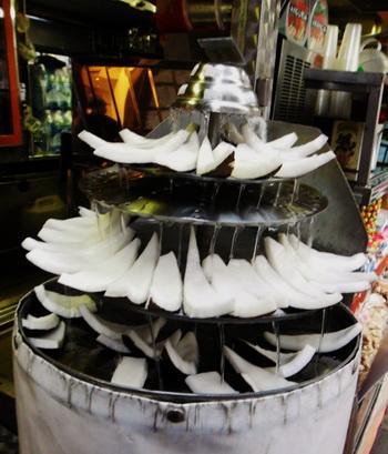 wedding coconut fountain