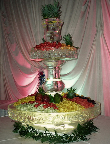 Wedding Fruit Fountain Alcohol