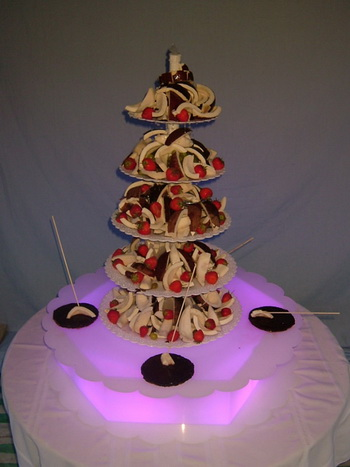 wedding fruit fountain do it yourself