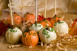 Pumpkin fall wedding favors