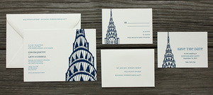 Place personalize wedding invitation