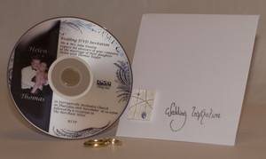 Video personalize wedding invitation video