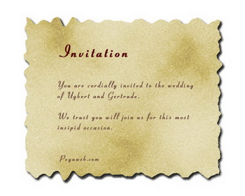 personalized wedding invitation text