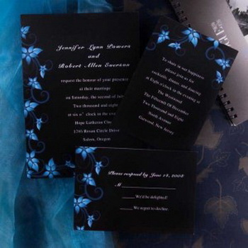 Personalized Wedding Invitations Colors