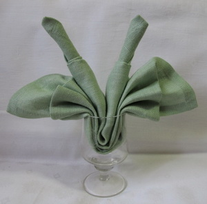 Candle fan Napkin folding