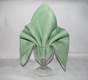 Personalize your wedding origami napkin folding all about wedding fleur de lys napkin folding mightylinksfo