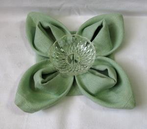 Flower Napkin Folding