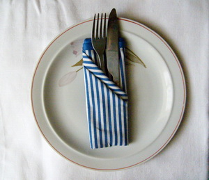 French Plat Folding Napkin