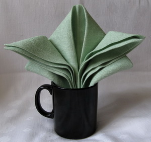 Napkin Folding for Mugs