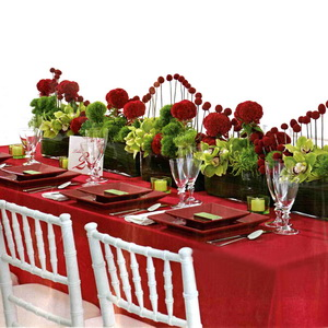 Valentines day wedding decorations